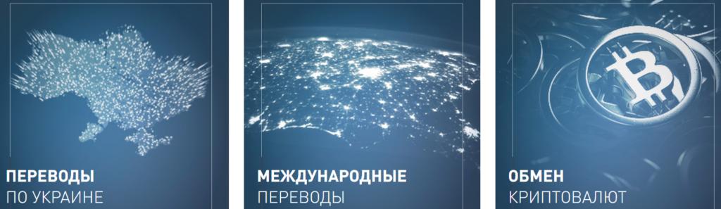 обмен валют и международные переводы