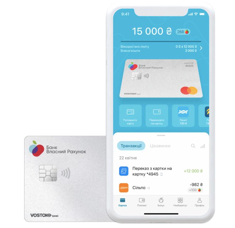 Конкурент для monobank