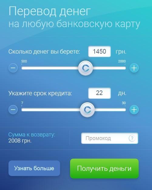 CashMe онлайн кредит