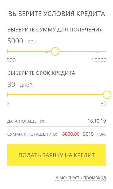 Проверенный микрокредитный сервис