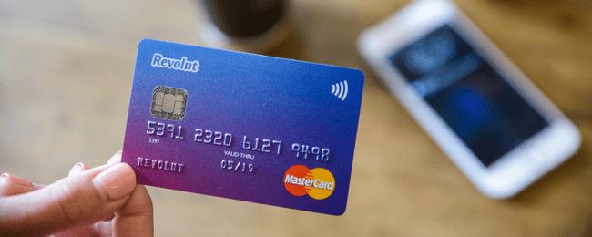 Получить кредитную карту Revolut