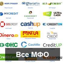 Полный каталог микрофинансовых организаций (МФО) Украины