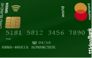 Оформить Card Blanche Debit «Green Social