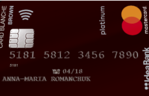 Оформить Card Blanche Debit Brown