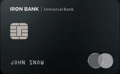 Карта IRON BANK от Monobank