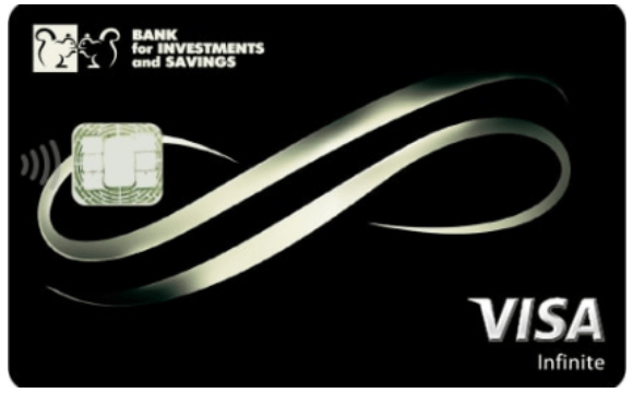 Карта Infinite от Банка Инвестиций и Сбережений