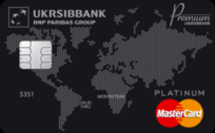 Visa Lady Card Gold от Укрсиббанка
