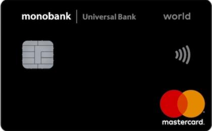 Кредитная карта Monobank