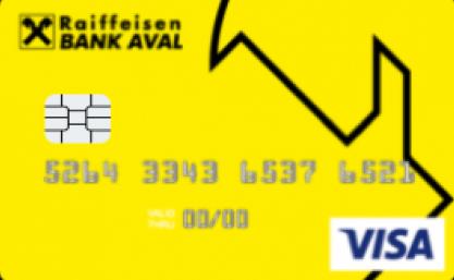 Карта для частных клиентов, в ин. валюте Classic от Райффайзен Банк Аваль