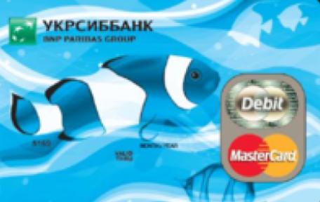 Карта ТП Start от Укрсиббанка