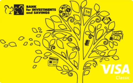 Карта зарплатная Classic от Банка Инвестиций и Сбережений