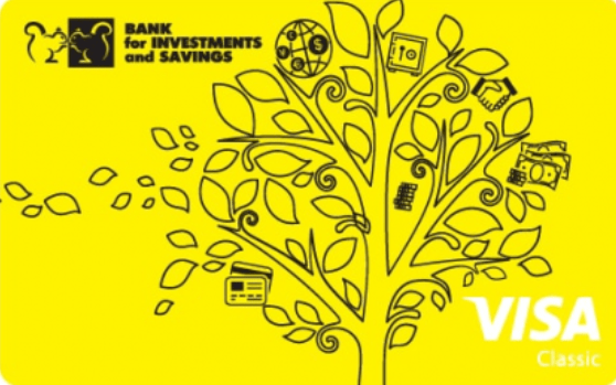 Карта зарплатная Gold от Банка Инвестиций и Сбережений