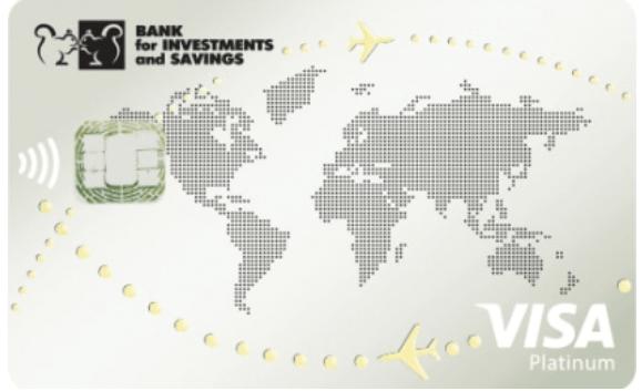 Карта зарплатная Platinum от Банка Инвестиций и Сбережений