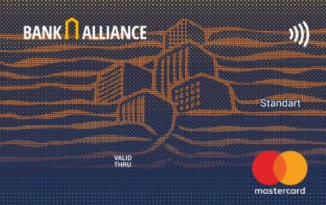 Карта зарплатная MC Standard PayPass от Банка Альянс