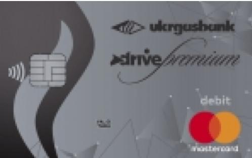 Карта Зарплатная Премиум Драйв MC Platinum Debit от «Укргазбанк»