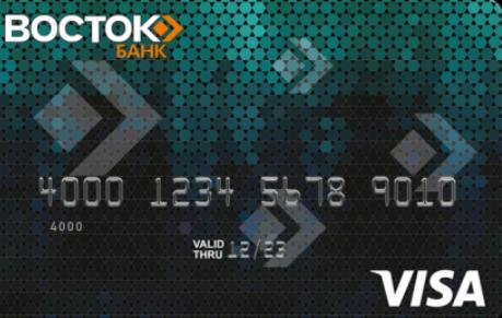 Удобно платить Visa Classic от Восток Банка