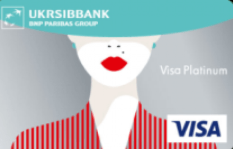 Visa Lady Card Platinum от Укрсиббанка